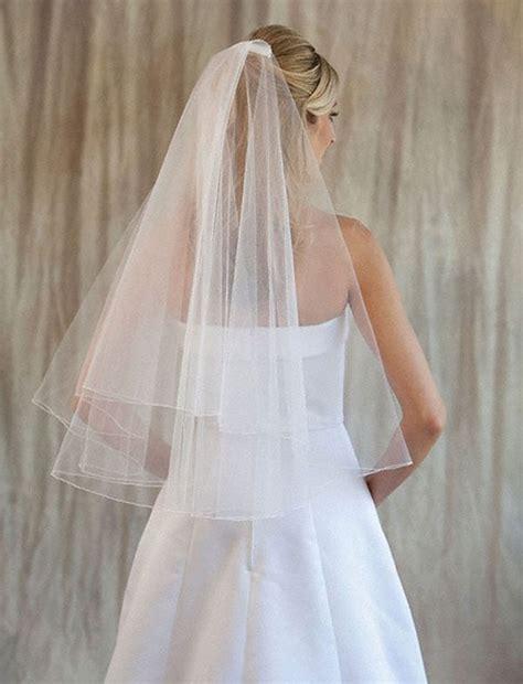 Best 25 Simple Wedding Veil Ideas On Pinterest Veil