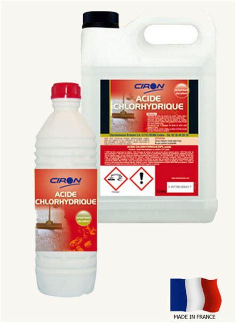 couteau professionnel de cuisine acide chlorhydrique 23 achat dtartrant acheter ph