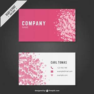 Abstract business card template vector free download for Business card template download