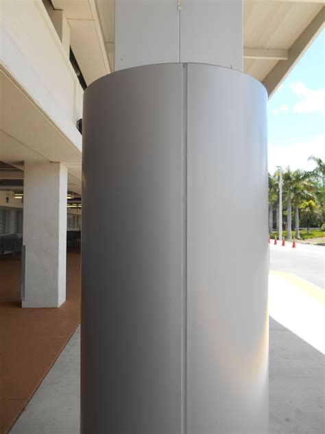 metal column covers acm column covers beam wraps saf