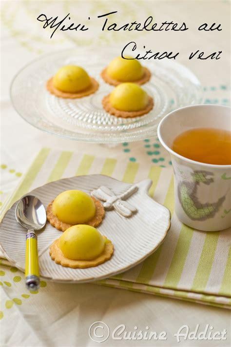 cirons cuisine mini tartelettes au citron vert cuisine addict