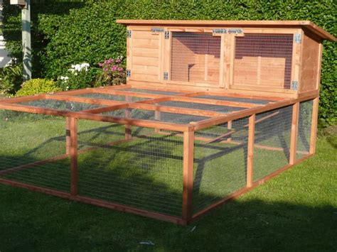 Meat Rabbit Hutch Plans Outdoor