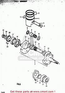 Suzuki Ts400 1973  K  Usa  E03  Crankshaft