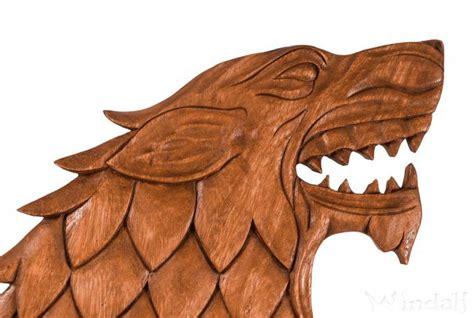 wikinger wolf fenrir   cm wand deko handarbeit