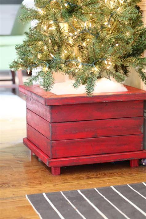 building a xmas tree box diy tree planters bower power