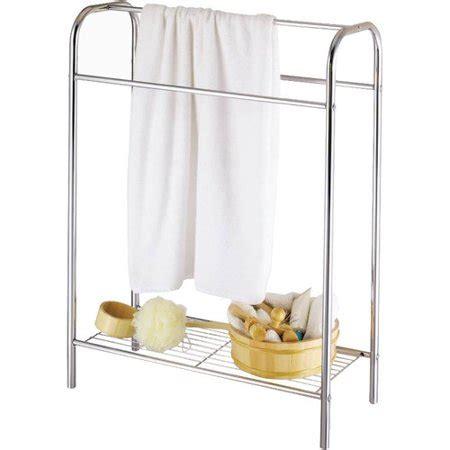 standing l walmart homebasix free standing towel rack walmart