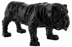 Statue Animaux Design : bulldog en r sine barcelone ~ Teatrodelosmanantiales.com Idées de Décoration