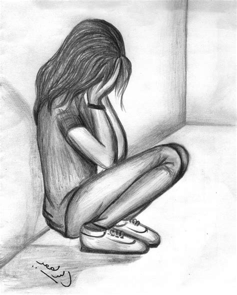 Best Depressing Drawings Ideas And Images On Bing Find What You