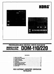 Korg 01w Wfd Service Manual Free Download  Schematics