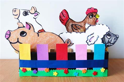 clothespin farm animals kids crafts fun craft ideas