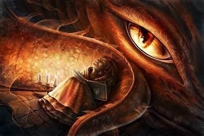 Dragon Fire Eye Fantasy Desktop Resolution Backgrounds
