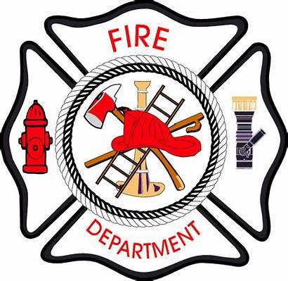 Fire Department Clip Clipart Cross Maltese Rescue