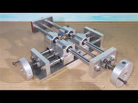 diy   axis tailstock lathe homemade mini milling router
