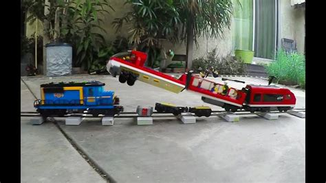 Lego Train Crash Test