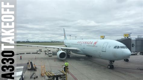 bureau air canada montreal air canada airbus a330 300 takeoff from montreal trudeau