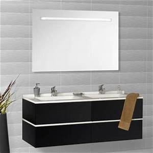 Double Vasque Noir : photos meubles de salle de bains page 3 ~ Teatrodelosmanantiales.com Idées de Décoration