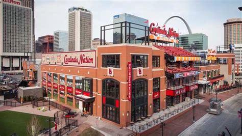 Budweiser Brew House Deck Menu by Cardinals Nation Drink At Ballpark St Louis