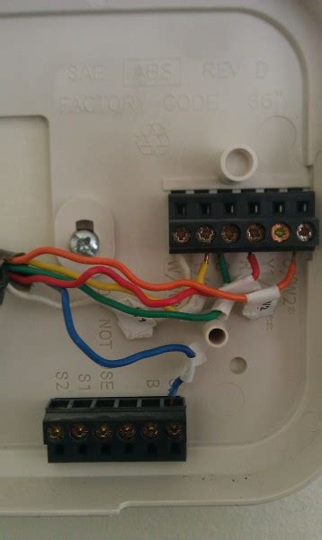 replacing carrier thermostat with honeywell hvac diy chatroom home improvement forum