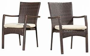 Patio Dining Chairs. Liberty Brown Patio Dining Armchair ...