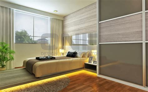 1 Bedroom Design Singapore by Hdb Bedrooms