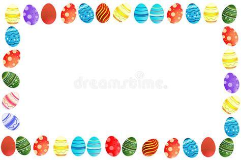 bordo delle uova  pasqua illustrazione  stock