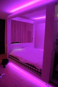I found Cool neon bedroom bed on Wish check it out
