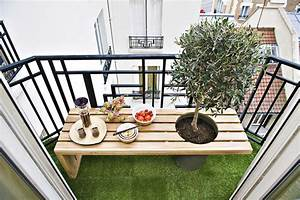 balcon idee d39amenagement exterieur special petite surface With comment amenager un petit jardin 1 transformer et vegetaliser un patio
