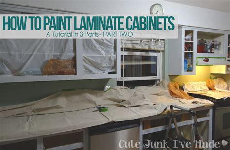 can you paint laminate cabinets cute junk i 39 ve made how to paint laminate cabinets part