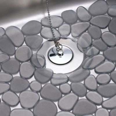 Pebblz Grey Sink Mat Large   Lakeland