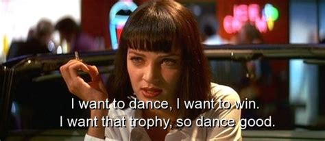 pulp fiction quotes sayings famous dance fav