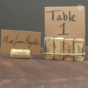 DIY place cards using wine corks & cardbord | Video ...