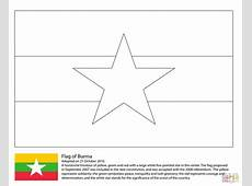 Flag of Myanmar coloring page Free Printable Coloring Pages