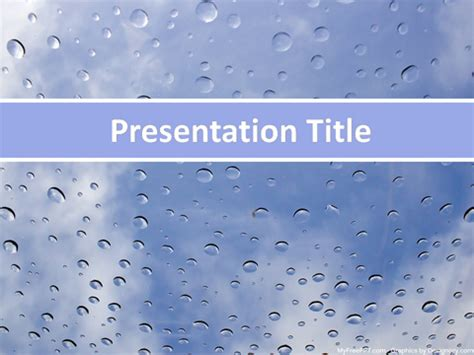 rainy season powerpoint template