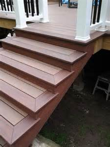 trex stairs question page 2 decks fencing contractor talk