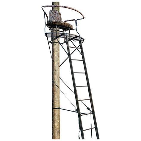 big dog 17 5 stadium series xl 2 man ladder tree stand