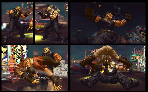 Sf X Tekken Jaguar King By Monkeygigabuster On Deviantart