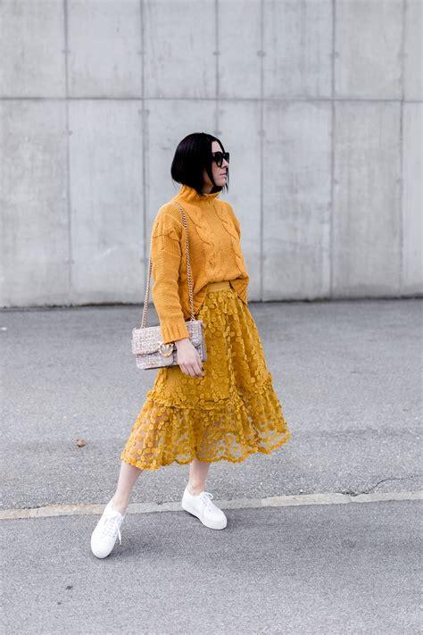 Welche Farben Kann Kombinieren by So Kombiniert Die Mode Farbe Gelb Im Alltag Who Is