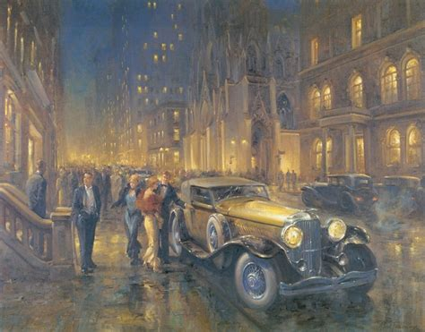 Classic Old Car Painting Of The Day