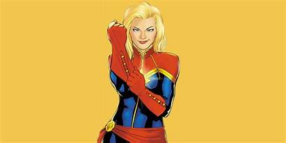 Marvel Captain Female Powerful Supeheroes