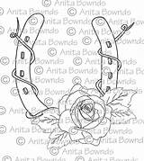 Horseshoe Roses Drawings Rose Coloring Liverwurst Sketch Template sketch template