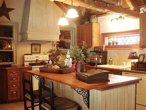 country kitchen decor ideas 20 inspiring primitive home decor exles