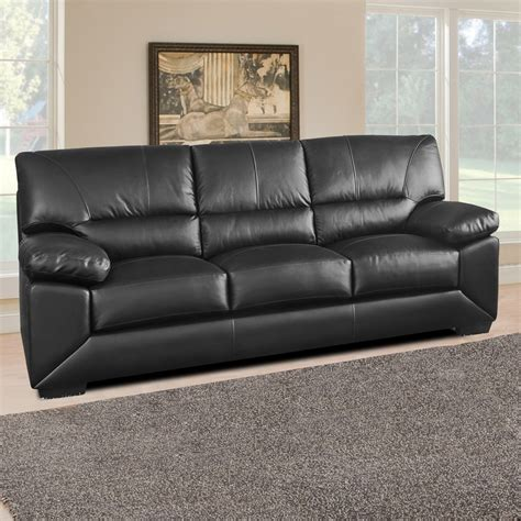Leather Sofa by Lenzari Italian Inspired 100 Real Leather Sofa Collection