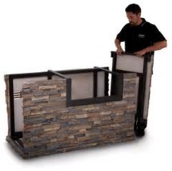 kitchen island base kits american outdoor grill 790 stack base with midnight
