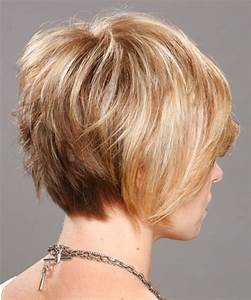 Women's Hairstyles: Layered Blonde Short Hairstyles Back ...