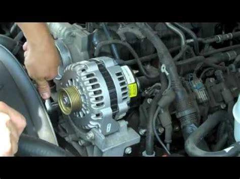 replace install alternator  gmc yukon denali
