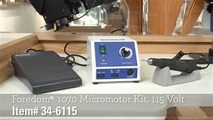 Foredom U00ae 1070 Micromotor Kit