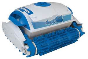 Robotic Pool Cleaner Cleaning