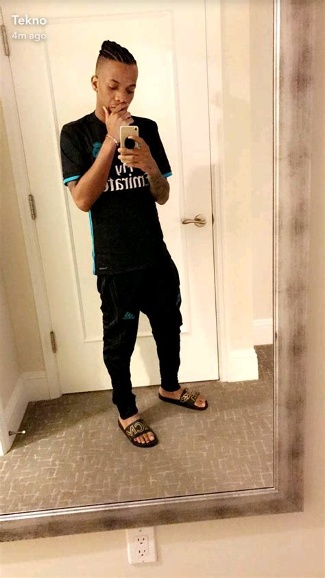 tekno shows   hairstyle  nigerian