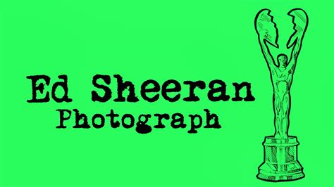 Ed Sheeran's New Song 'photograph' Is Coming And The