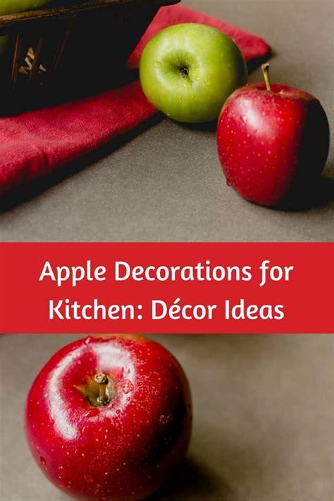 apple decorations  kitchen decor ideas great gift ideas